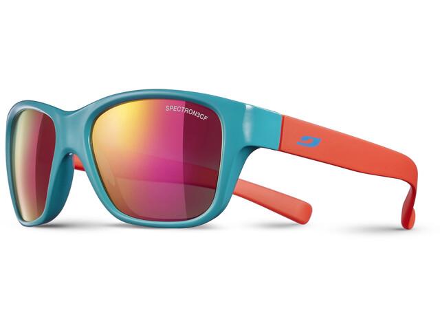 Julbo Kids 4-8Y Turn Spectron 3CF Sunglasses Shiny Turquoise/Matt Coral-Multilayer Pink
